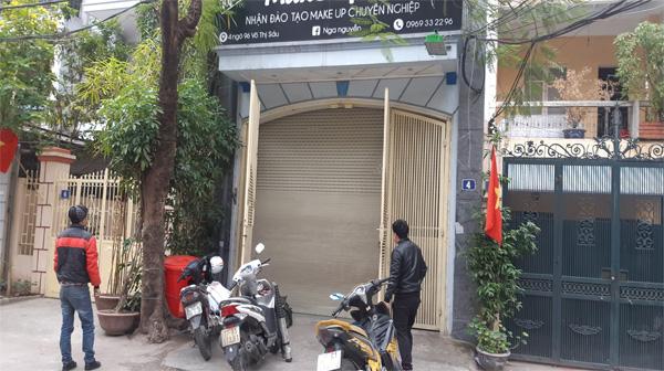 Sửa chữa cửa cuốn tại Hàng Bột