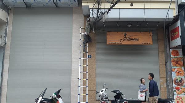 Sửa chữa cửa cuốn tại Khâm Thiên