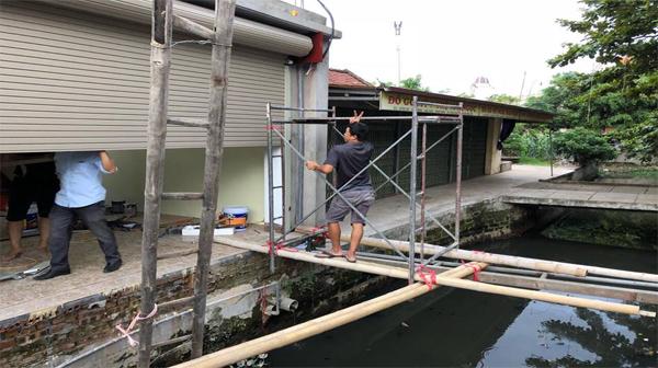 Sửa chữa cửa cuốn tại Trung Liệt